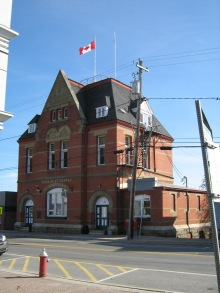 St . Stephen Town Hall. 8 October 2006. (Photo: Hendrik Slegtenhorst)