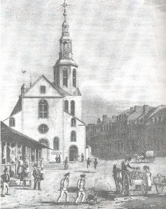 Notre-Dame-de-Québec, 1832. (Courtesy: Université de Moncton)
