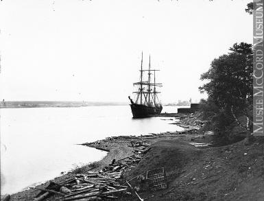 Lumber schooner, Chatham NB, 1905 (Courtesy: McCord Museum)