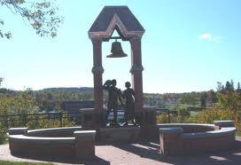 The Milltown Monument (St. Stephen, NB) (Courtesy: chocolatetown.ca)