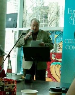 Hendrik Slegtenhorst, Edmonton Poetry Festival, Edmonton, Alberta, Canada