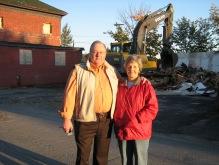 Crack house demolition, St. Stephen New Brunswick