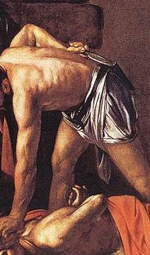 Caravaggio's Dagger, Beheading of John the Baptist