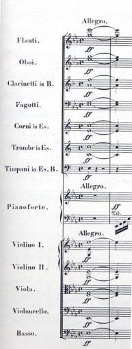 Caravaggio's Dagger, Beethoven, Piano Concerto 5