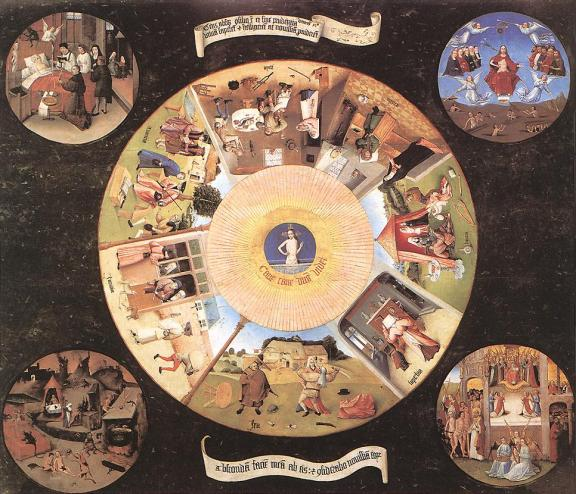Hieronymus Bosch, The 7 Deadly Sin & 4 Last Things