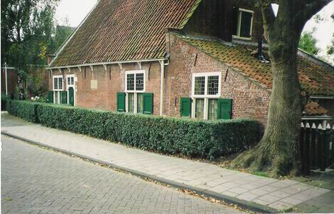 Spinoza's house in Rijnsburg from 1661-3, now a museum