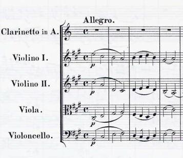 Caravaggio's Dagger, Mozart, Clarinet Quintet, K. 581