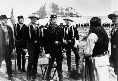 Still from Fort Apache