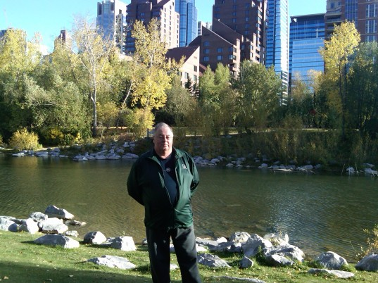 At Princes Island, Calgary, Alberta. 27 September 2011. (Photo: Gloria Steel)
