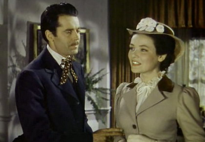 Henry Fonda and Gene Tierney in The Return of Frank James