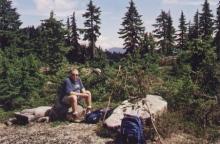 Mystery Peak, Mount Seymour, North Vancouver, BC. 8 August 2002. (Photo: Gloria Steel)