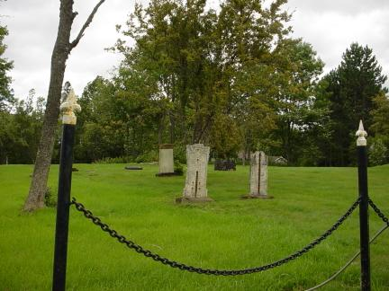 Loyalist Burial Ground, King Street, St. Stephen, NB (Courtesy: Canadian Historical Places)