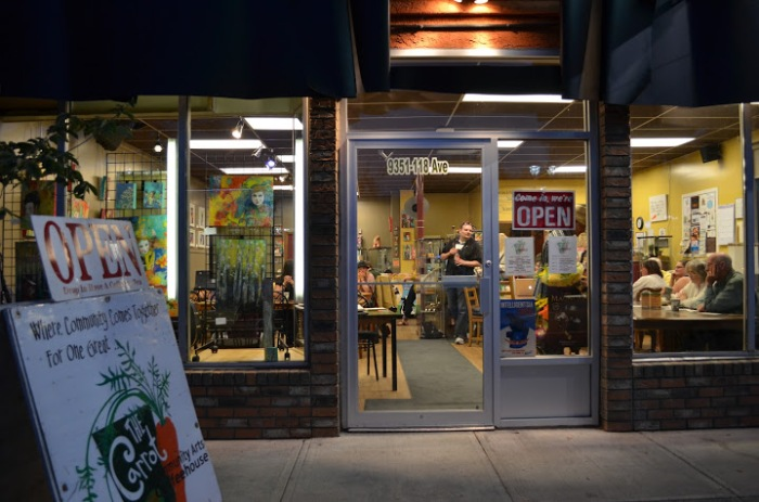 The Carrot Arts Coffeehouse (Courtesy: The Carrot)