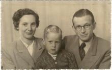The Slegtenhorst Family - in Leiden, 1952