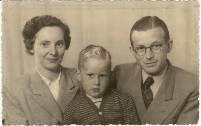 The Slegtenhorst Family - in Leiden, 1952