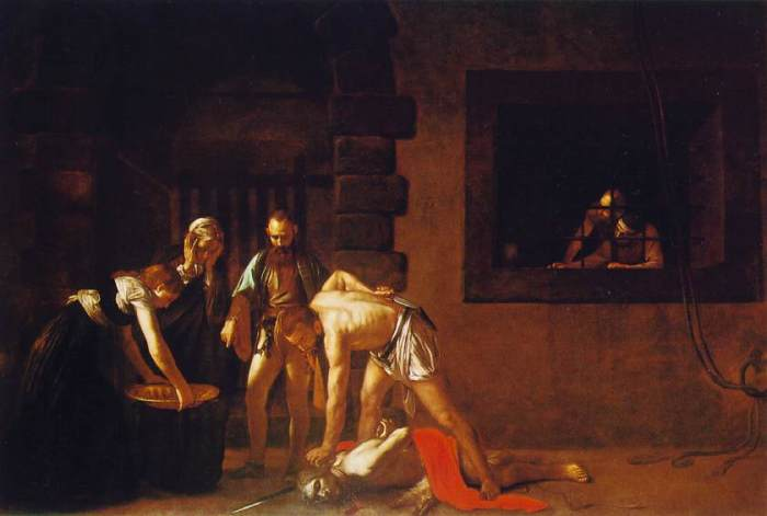 Caravaggio: The Beheading of John the Baptist