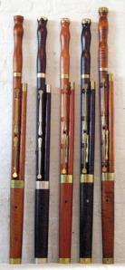 Baroque bassoons (Courtesy: www.leslieross.net)