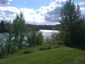 North Saskatchewan River. 9 September 2012. (Photo: Hendrik Slegtenhorst)