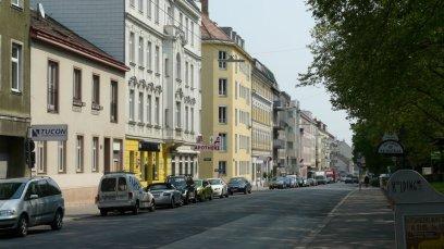 Krottenbachstrasse, Vienna, where I lived. (Courtesy:  www.panoramio.com)