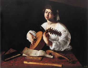 Caravaggio: The Lute Player (1596)
