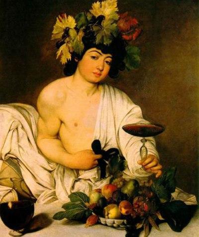 Caravaggio: Bacchus (1595)
