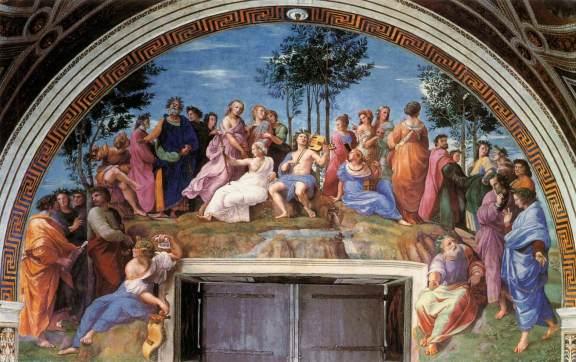 Raphael: The Parnassus (1509-10)