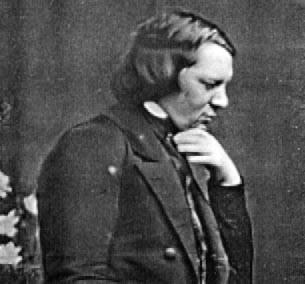 Schumann. Daguerreotype.