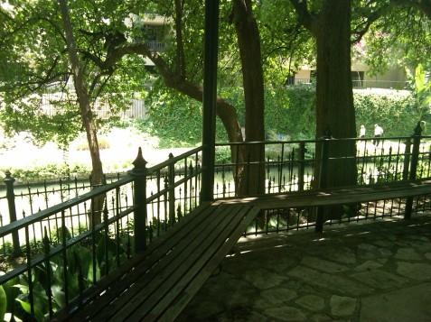 Courtyard of the the Ursuline Campus of the Southwest School of Art at Rio San Antonio, Texas, 25 July 2013 (Photo: Hendrik Slegtenhorst)
