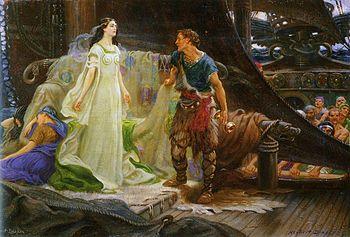 Tristan and Iseult, William Draper (1863-1920)