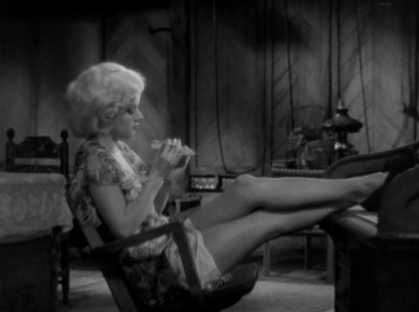 Red Dust. Jean Harlow. (Courtesy: The Warner Archive)