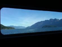 View of Howe Sound, British Columbia, from the Bowen Island-Mainland ferry, 7 October 2010 (Photo: Hendrik Slegtenhorst)