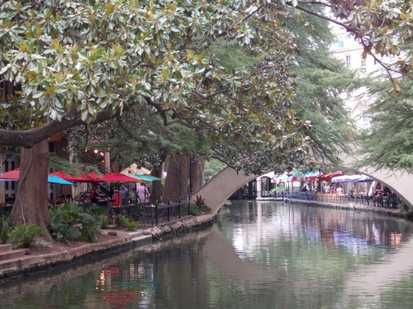 San Antonio River Walk Downtown, 15 July 2013 (Photo: Gloria Steel)