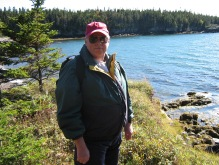 At the Bay of Fundy, New Brunswick 7 October 2006 (Photo: Gloria Steel)