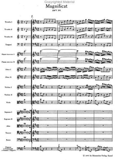 Bach: Magnificat, opening chorus