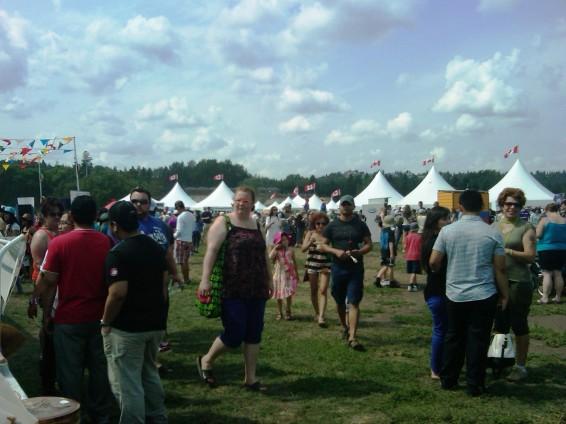 Servus Heritge Festival, Edmonton, Alberta. 3 August 2014. (Photo: Hendrik Slegtenhorst)