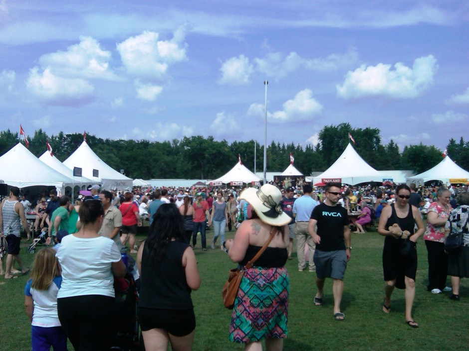 Servus Heritage Festival, Edmonton, Alberta. 3 August 2014. (Photo: Hendrik Slegtenhorst)