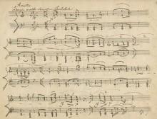 Beethoven, manuscript of the Arietta, Op. 111