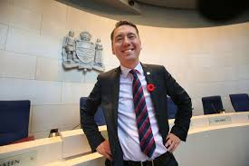 """Councillor Michael Walters, who is, a year after election, in his own words, """"still standing."""" (Courtesy: www.edmontonsun.com)"""