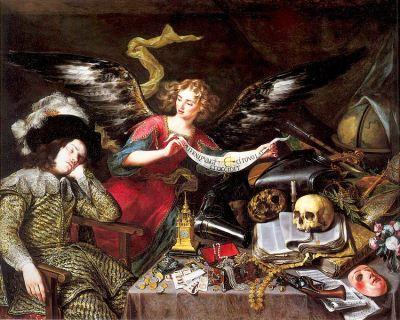 The Knight's Dream, by Antonio de Pereda