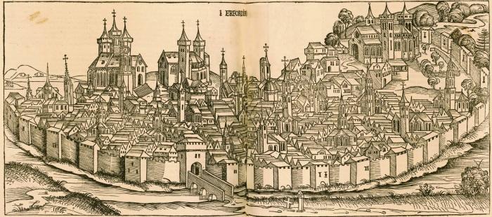 Erfurt (Courtesy: reformation500.csl.edu)
