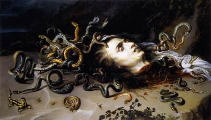 The Head of Medusa, by Peter Paul Rubens