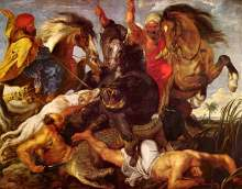 Rubens: The Hippopotamus Hunt, 1614-18 (Courtesy: www.peterpaulrubens.net)