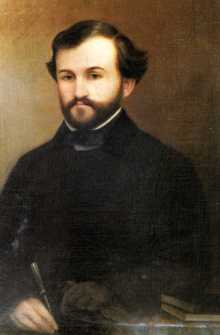 Verdi, portrait by Molentini, 1839-40 (Courtesy: www.verdi.san.beniculturali.it)