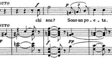 """Rodolfo to Mimi, """"Che gelida manina,"""" Puccini: La Bohème, Act I"""