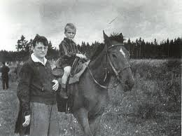 Shostakovich and son Maxim (Courtesy: www.shostakovichquartets.com)