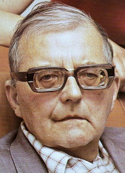 Dmitri Shostakovich, in later life (Courtesy: www.findagrave.com