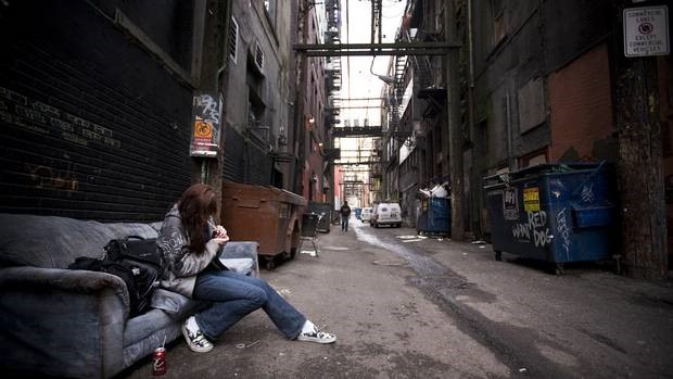 Downtown Eastside, Vancouver (Courtesy: www.theglobeandmail.com)
