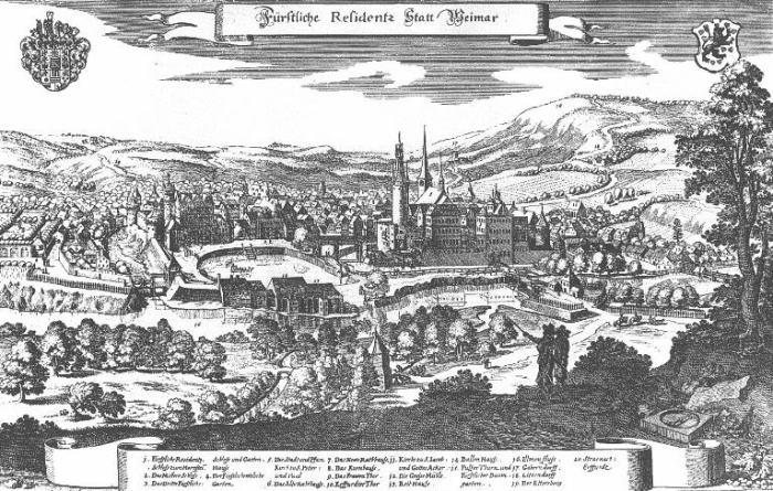 Weimar 1708 (Courtesy: www.let.rug.nl)