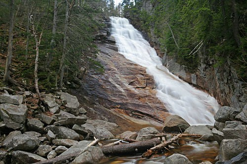 Ripley Falls, New Hampshire (Courtesy: www.northeastwaterfalls.com)