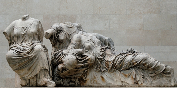 The Three Fates. From the east pediment of the Parthenon.